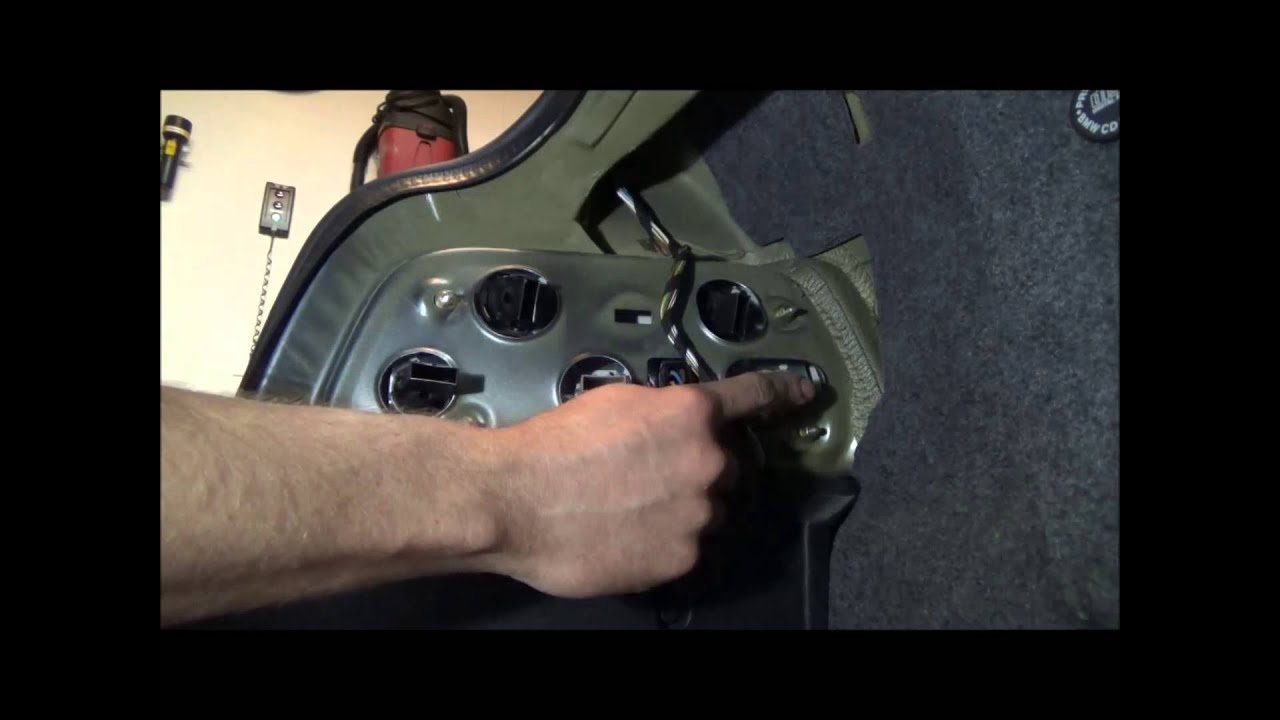 small resolution of bmw e36 328is tail lamp bulbs types and installation