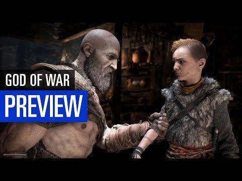 God of War (PS4) PREVIEW / 10 Minuten Gameplay aus der PS4-Pro-Version
