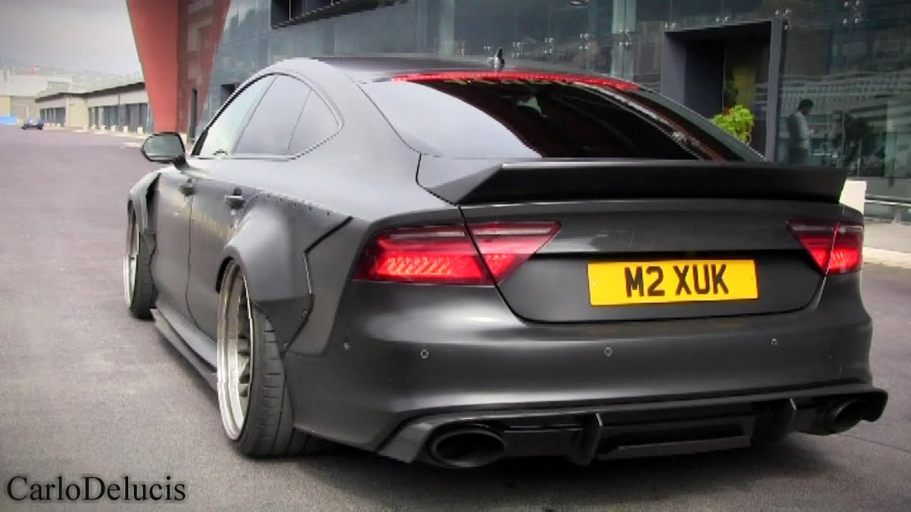 Audi Quot Rs7 Quot Tdi Insane Launch Controls Youtube