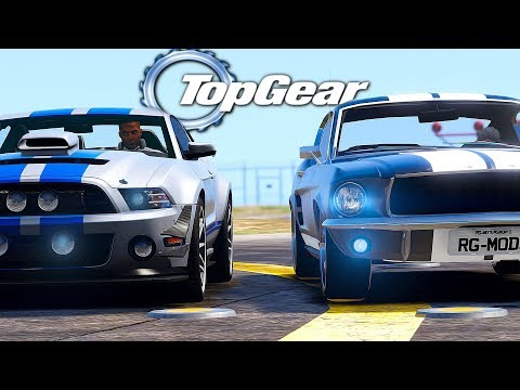 GTA V: TOP GEAR | MUSTANG do TJ vs MUSTANG do ALLISON, qual corre mais ? thumbnail