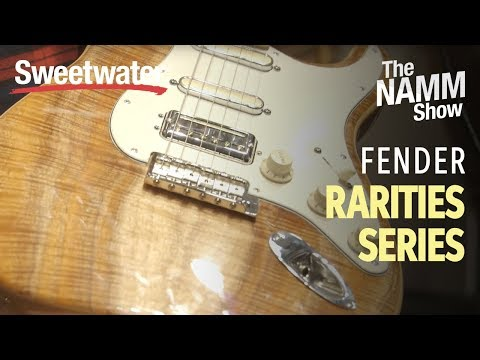 Fender Rarities Series at Winter NAMM 2019   Sweetwater