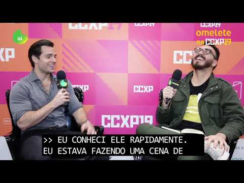 Henry Cavill CCXP2019 Interview