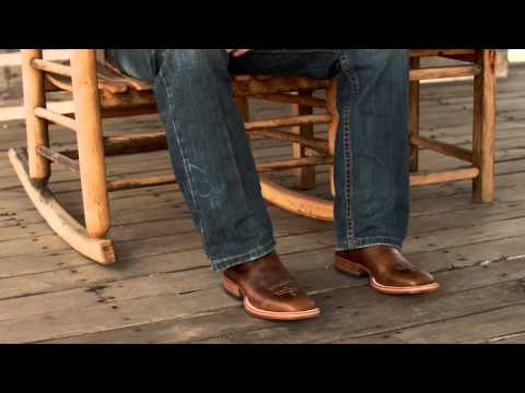 How To Fit Your Justin Cowboy Boots Youtube