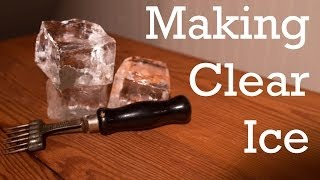Making Clear Ice From Better Cocktails At Home