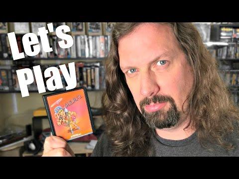 Let's Play H.E.R.O. (Atari 2600) with Metal Jesus Rocks