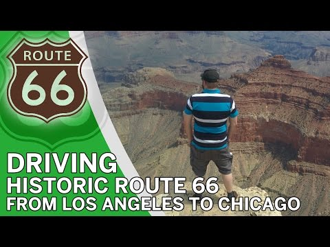 From Los Angeles to Chicago - Driving the Route 66 (includin