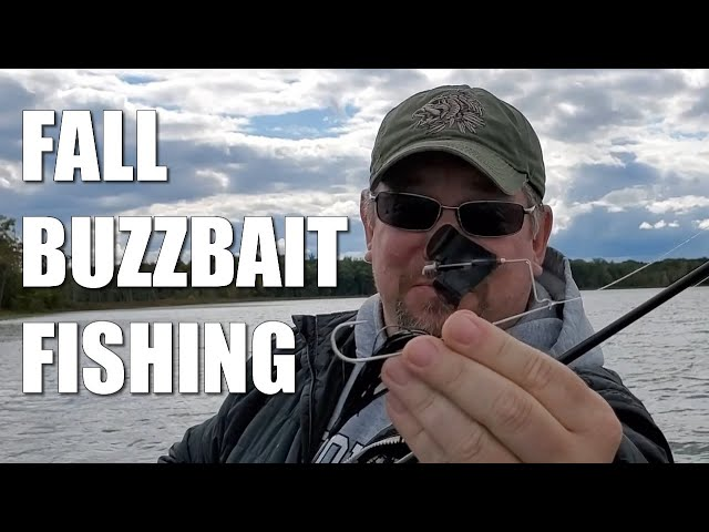 Fall Buzzbait Fishing