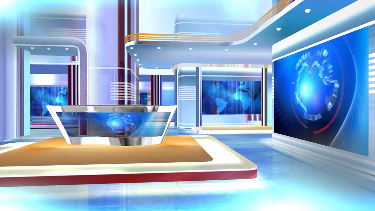 Free Hd Virtual Studio Set With Green Screen Hd Youtube