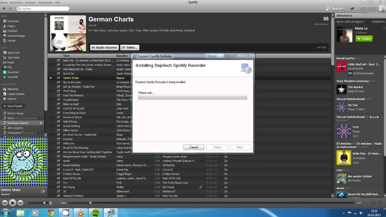 Spotify Lieder kostenlos und legal downloaden mit Dojotech