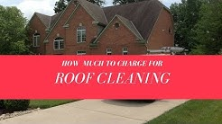 How Much To Charge To Do Roof Cleaning? Roof Cleaning Pricing