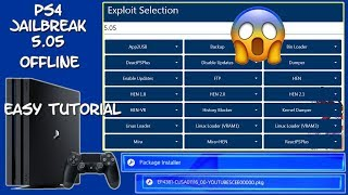 How To Custom Your PS4 Firmware 5.05 install PKGs Enable Debug settings
