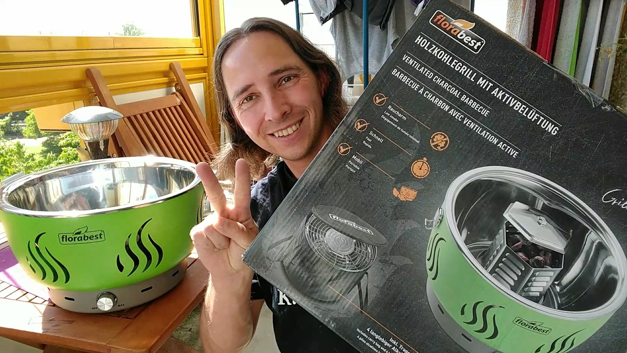 Activa Holzkohlegrill Mit Aktivbelüftung : Florabest holzkohlegrill mit aktivbelüftung von lidl youtube