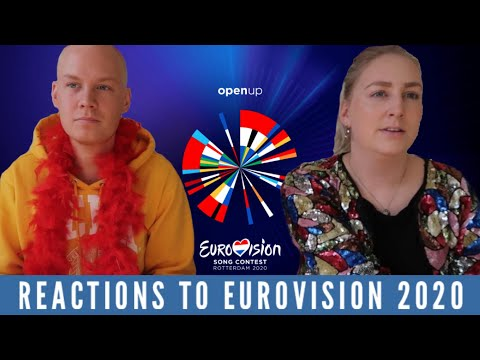 Eurovision 2020: REACTION TO ALL 41 SONGS