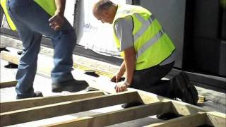 Support Pads For Timber Decking Install By Wallbarn