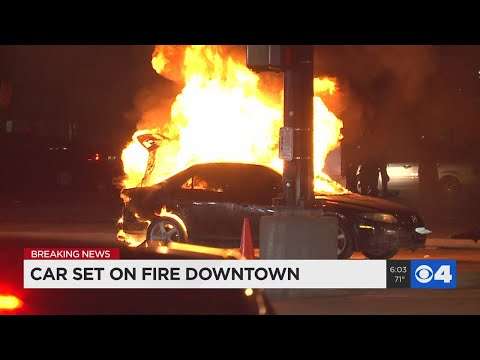 Chaos in downtown St. Louis as protests turn violent
