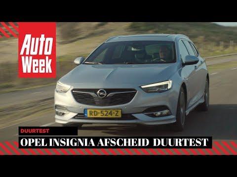 Opel Insignia - Afscheid duurtest