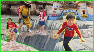 น้องการ์ตูน | เที่ยวสวนสนุกดรีมเวิลด์ กับ Ding Dong DAD - ตอนที่4 - TOON STORY