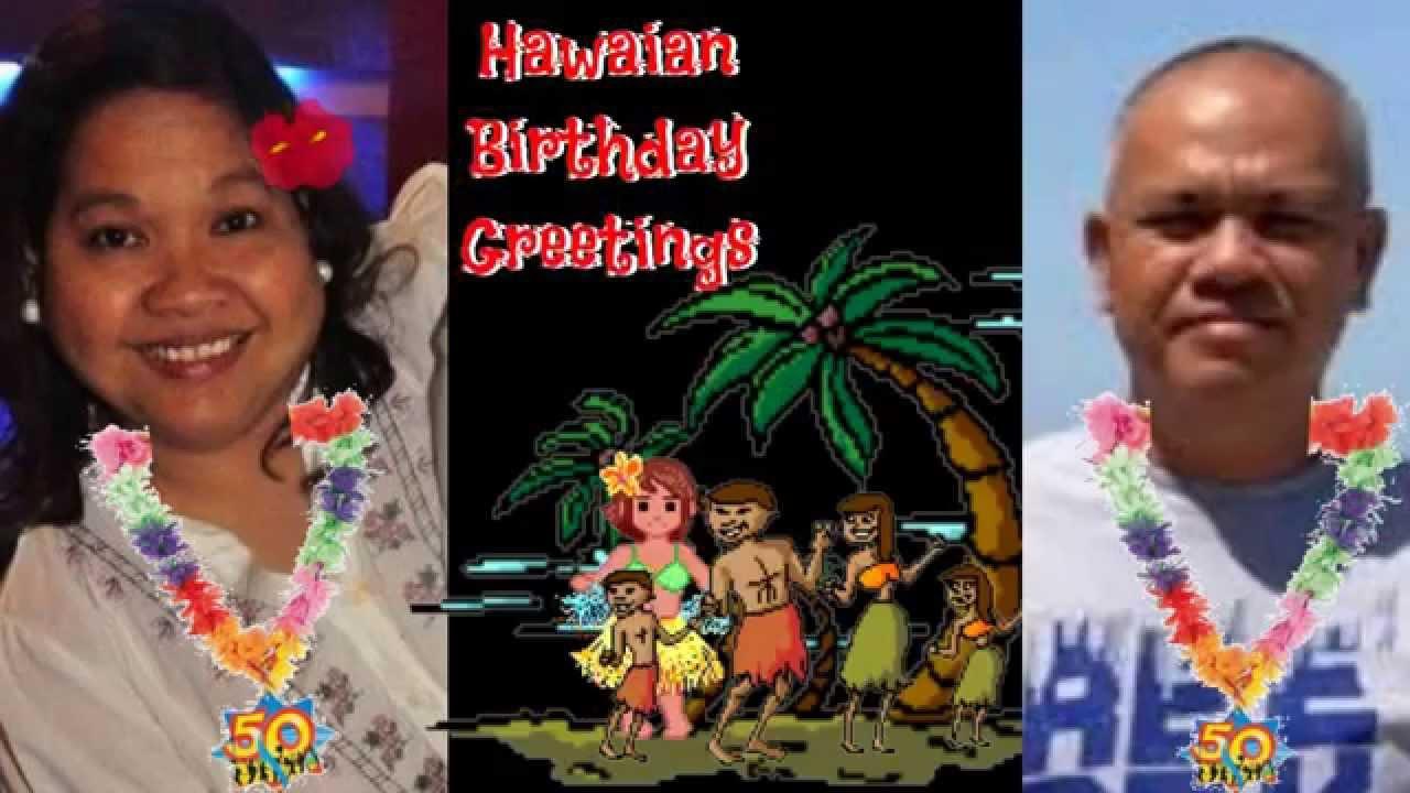 Hawaiian birthday greetings youtube hawaiian birthday greetings m4hsunfo