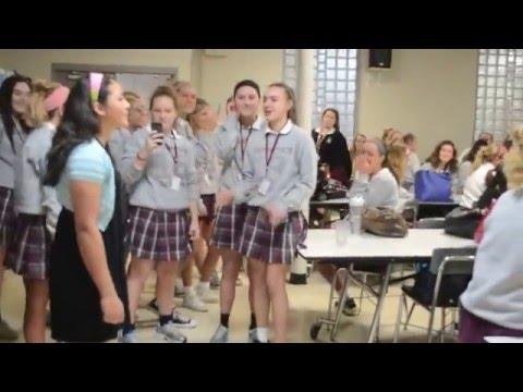 Assumption High School's Flash Mob of
