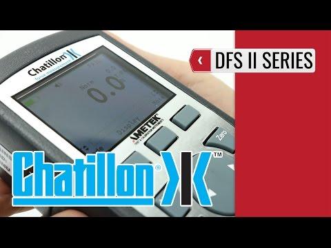 Chatillon DFS2 - Advanced Force Gauge (product video presentation)