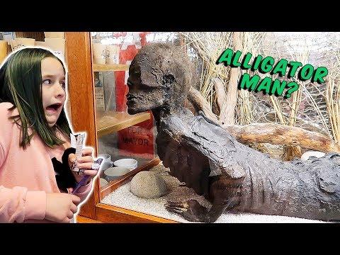 Go Karts on the Beach! Jake the Alligator Man? The Patsy Family Vlog