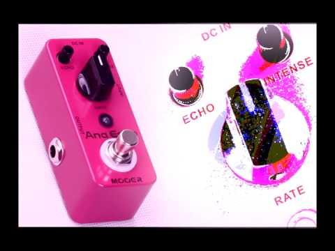 Mooer Ana Echo Analog Delay micro compact pedal