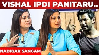 "Baixar ""எங்க எல்லாரையும் ஆடவச்சு சம்பாரிச்சாங்க "" - Actress Sangeetha Blasts On Vishal | Nadigar Sangam"