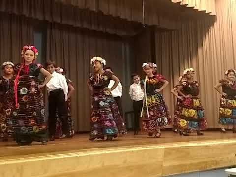 North Ranchito Elementary School Folklorico performances