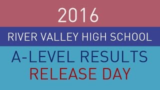 River Valley High A-Level Results Release Day (Class of 2015)