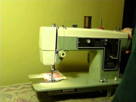 how to fix my kenmore sewing machine