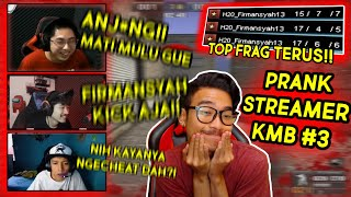 PRANK 3 STREAMER DI KMB!! NYAMAR JADI VIEWERS!! // Gameplay Point Blank Zepetto Indonesia