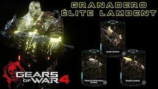 """Gears of War 4 l 1ra. Partida """" Granadero Elite Lambent """" l Escalada en Ascensor l 1080p Hd"""