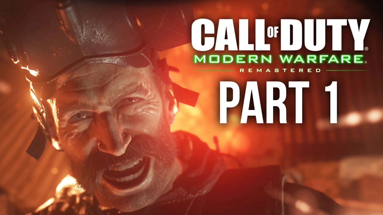Download Call of Duty Modern Warfare Remastered Gameplay Walkthrough Part 1 - F.N.G. & CREW EXPENDABLE