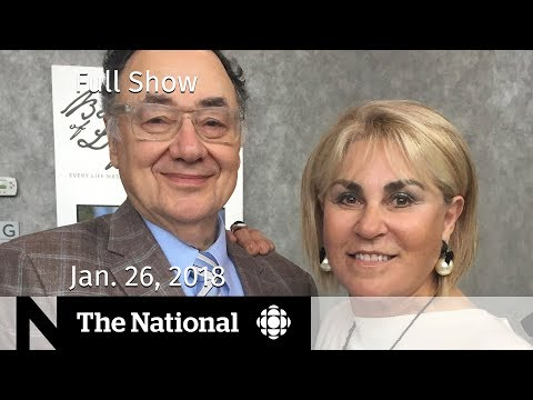 The National for Friday January 26, 2018 - Sherman Murders, Patrick Brown, NAFTA