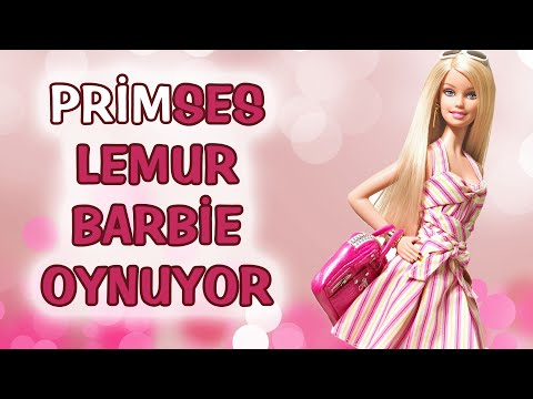 PRİMSES LEMUR BARBIE OYNUYOR   Sözüm Söz #2
