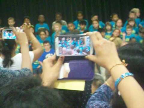 Linden Hill Elementary School Kindergarten Graduation Song