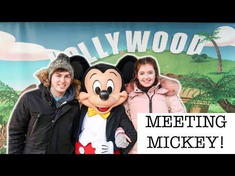 MEETING MICKEY MOUSE & EXPLORING BOTH PARKS | Disneyland Paris Vlog - Day 4