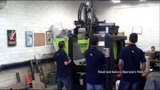 Open Source CNC Machine MFG.COM - Video