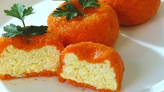 Острая сырная закуска Мандарин | Очень Вкусный Рецепт !