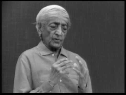 How do you pose a fundamental question? | J. Krishnamurti