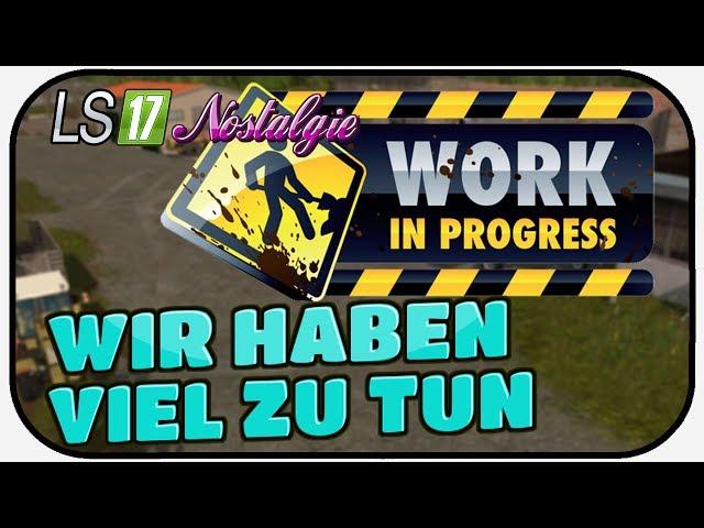 LS17 NOSTALGIE #077 - WIR HABEN VIEL ZU TUN ? LPG SCHWARZE PUMPE Thüringer Oberland 1988