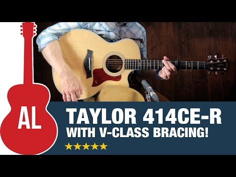 Taylor 414ce-R (Rosewood LTD) with V-Class Bracing