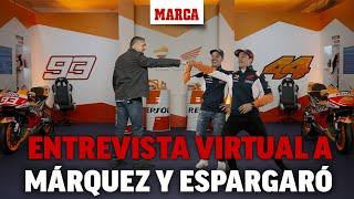 Entrevista conjunta a Marc Márquez y Pol Espargaró I MARCA