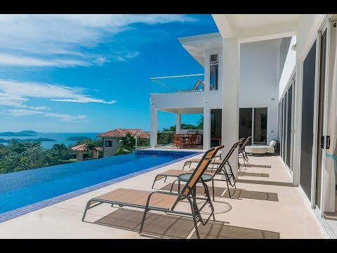Six Bedroom Ocean View Luxury Home For Sale in Playa Potrero, Costa Rica