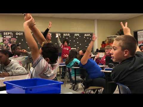 Portage Middle School Model Classroom
