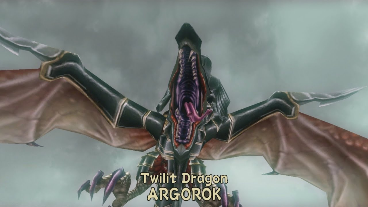 twilit dragon argorok boss fight - the legend of zelda: twilight