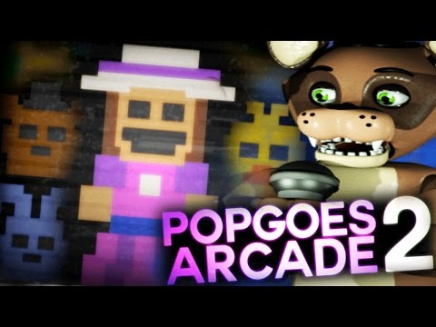 A NEW ARCADE MACHINE IN FAZBEARS FRIGHT || POPGOES Arcade 2 (Five Nights at Freddys)