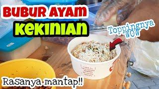 Sarapan Bubur Ayam Kekinian Pake Topping Keju Rasanya Mantap Kuliner Surabaya