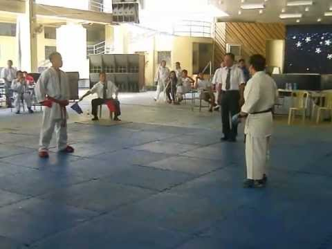 MAAI Member, Jeanjaquit (in Red Gloves) - Karate Do