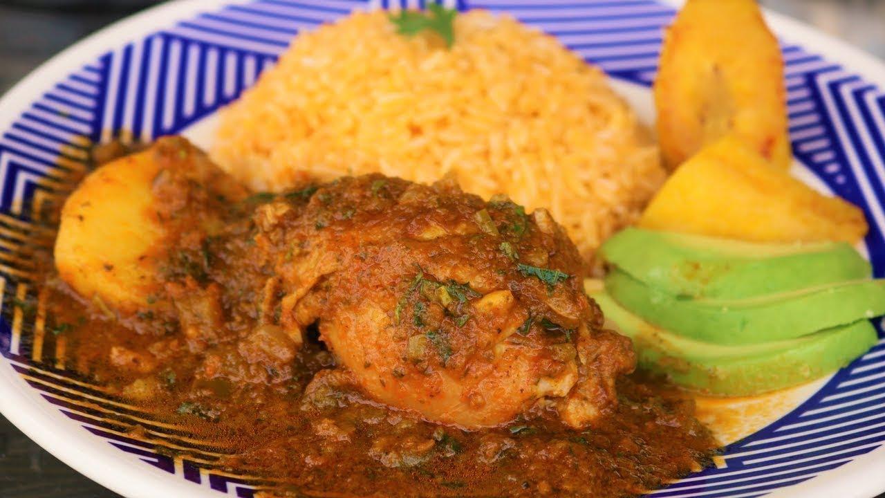 Best chicken stew ever ecuadorian seco de pollo recipe youtube best chicken stew ever ecuadorian seco de pollo recipe forumfinder Images